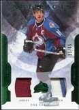 2011/12 Upper Deck Artifacts Jerseys Patch Emerald #100 Joe Sakic /65