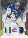 2011/12 Upper Deck Artifacts Patches Spectrum #1 Roberto Luongo 6/15