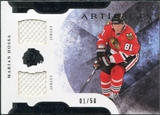 2011/12 Upper Deck Artifacts Horizontal Jerseys #3 Marian Hossa /50