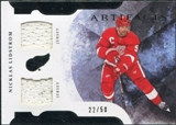 2011/12 Upper Deck Artifacts Horizontal Jerseys #5 Nicklas Lidstrom /50