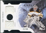 2011/12 Upper Deck Artifacts Horizontal Jerseys #7 Tim Thomas /50