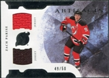 2011/12 Upper Deck Artifacts Horizontal Jerseys #9 Zach Parise /50
