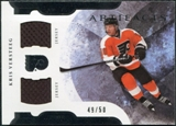 2011/12 Upper Deck Artifacts Horizontal Jerseys #32 Kris Versteeg /50