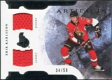 2011/12 Upper Deck Artifacts Horizontal Jerseys #65 Erik Karlsson /50