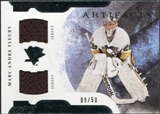 2011/12 Upper Deck Artifacts Horizontal Jerseys #72 Marc-Andre Fleury /50