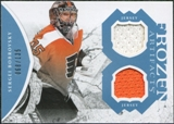 2011/12 Upper Deck Artifacts Frozen Artifacts Jerseys Blue #FASB Sergei Bobrovsky /135