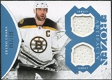 2011/12 Upper Deck Artifacts Frozen Artifacts Jerseys Blue #FAZC Zdeno Chara /135