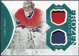 2011/12 Upper Deck Artifacts Frozen Artifacts Jerseys Patches Emerald #FACP Carey Price /35