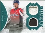 2011/12 Upper Deck Artifacts Frozen Artifacts Jerseys Patches Emerald #FAMG Mike Green /35