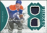 2011/12 Upper Deck Artifacts Frozen Artifacts Jerseys Patches Emerald #FATH Taylor Hall /35