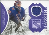 2011/12 Upper Deck Artifacts Frozen Artifacts Jerseys Purple #FAHL Henrik Lundqvist