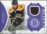 2011/12 Upper Deck Artifacts Frozen Artifacts Jerseys Purple #FAKR David Krejci