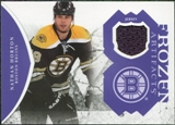 2011/12 Upper Deck Artifacts Frozen Artifacts Jerseys Purple #FANH Nathan Horton