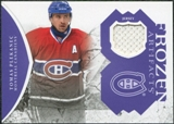 2011/12 Upper Deck Artifacts Frozen Artifacts Jerseys Purple #FATP Tomas Plekanec