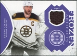2011/12 Upper Deck Artifacts Frozen Artifacts Jerseys Purple #FAZC Zdeno Chara