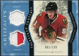 2011/12 Upper Deck Artifacts Treasured Swatches Blue #TSHO Marian Hossa /135