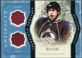 2011/12 Upper Deck Artifacts Treasured Swatches Blue #TSMD Matt Duchene /135