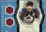 2011/12 Upper Deck Artifacts Treasured Swatches Blue #TSMH Milan Hejduk /135