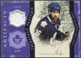 2011/12 Upper Deck Artifacts Treasured Swatches Purple #TSCM Clarke MacArthur