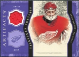 2011/12 Upper Deck Artifacts Treasured Swatches Purple #TSCO Chris Osgood