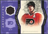 2011/12 Upper Deck Artifacts Treasured Swatches Purple #TSCP Chris Pronger