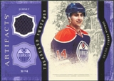 2011/12 Upper Deck Artifacts Treasured Swatches Purple #TSJE Jordan Eberle
