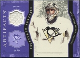 2011/12 Upper Deck Artifacts Treasured Swatches Purple #TSMF Marc-Andre Fleury