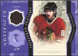 2011/12 Upper Deck Artifacts Treasured Swatches Purple #TSPK Patrick Kane