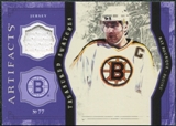 2011/12 Upper Deck Artifacts Treasured Swatches Purple #TSRB Ray Bourque