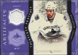 2011/12 Upper Deck Artifacts Treasured Swatches Purple #TSRK Ryan Kesler