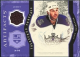 2011/12 Upper Deck Artifacts Treasured Swatches Purple #TSRS Ryan Smyth