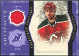 2011/12 Upper Deck Artifacts Treasured Swatches Purple #TSTZ Travis Zajac