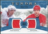 2011/12 Upper Deck Artifacts Tundra Tandems Jerseys Blue #TT2CD Pavel Datsyuk / Dan Cleary /225