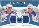 2011/12 Upper Deck Artifacts Tundra Tandems Jerseys Blue #TT2DS Marc Staal / Brandon Dubinsky /225