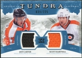 2011/12 Upper Deck Artifacts Tundra Tandems Jerseys Blue #TT2HC Jeff Carter / Scott Hartnell /225