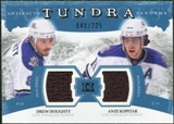 2011/12 Upper Deck Artifacts Tundra Tandems Jerseys Blue #TT2KD Drew Doughty / Anze Kopitar /225