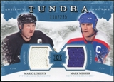 2011/12 Upper Deck Artifacts Tundra Tandems Jerseys Blue #TT2LM Mario Lemieux / Mark Messier /225