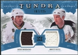 2011/12 Upper Deck Artifacts Tundra Tandems Jerseys Blue #TT2MH Mike Modano / Brett Hull /225
