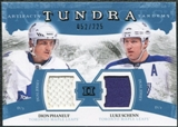2011/12 Upper Deck Artifacts Tundra Tandems Jerseys Blue #TT2PS Dion Phaneuf / Luke Schenn /225