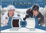 2011/12 Upper Deck Artifacts Tundra Tandems Jerseys Blue #TT2RB Brad Richards / Jamie Benn /225