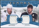 2011/12 Upper Deck Artifacts Tundra Tandems Jerseys Blue #TT2RO Mike Ribeiro / Steve Ott /225