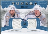2011/12 Upper Deck Artifacts Tundra Tandems Jerseys Blue #TT2SW Shea Weber / Ryan Suter /225