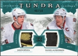 2011/12 Upper Deck Artifacts Tundra Tandems Patches Emerald #TT2AS Jason Spezza / Daniel Alfredsson /50