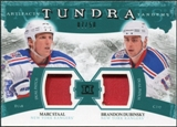 2011/12 Upper Deck Artifacts Tundra Tandems Patches Emerald #TT2DS Marc Staal / Brandon Dubinsky /50