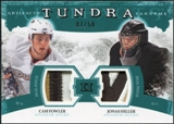 2011/12 Upper Deck Artifacts Tundra Tandems Patches Emerald #TT2FH Cam Fowler / Jonas Hiller /50