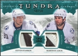 2011/12 Upper Deck Artifacts Tundra Tandems Patches Emerald #TT2SM Steven Stamkos / Martin St. Louis /50