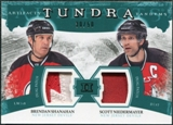 2011/12 Upper Deck Artifacts Tundra Tandems Patches Emerald #TT2SN Brendan Shanahan / Scott Niedermayer /50