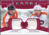 2011/12 Upper Deck Artifacts Tundra Tandems Fight Straps Red #TT2HC Jeff Carter / Scott Hartnell /10