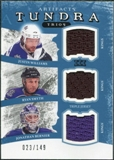 2011/12 Upper Deck Artifacts Tundra Trios Jerseys Blue #TT3KINGS Jason Williams Ryan Smyth Jon Bernier /149