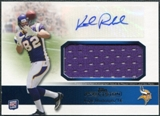 2011 Topps Precision Rookie Jumbo Relic Autographs #RAJRKR Kyle Rudolph